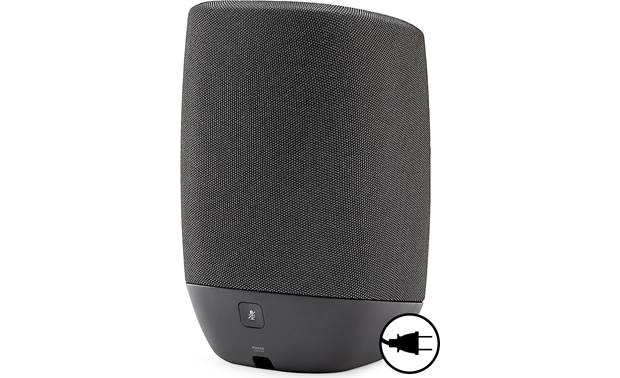 Polk Assist Midnight Black - back (AC power required)