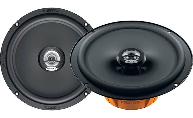 Hertz DCX 165.3 Swap out your old speakers for Hertz's Dieci Series