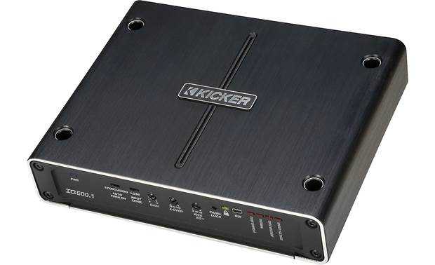 Kicker 42IQ500.1 mono subwoofer amp and DSP
