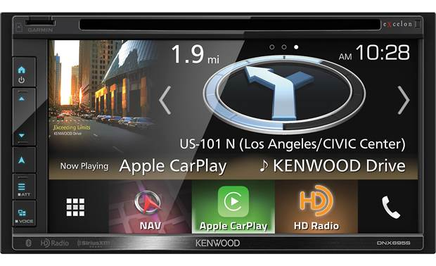 Kenwood Excelon DNX695S Front