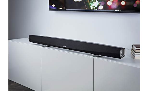 Denon HEOS HomeCinema HS2 Includes detachable feet for tabletop placement
