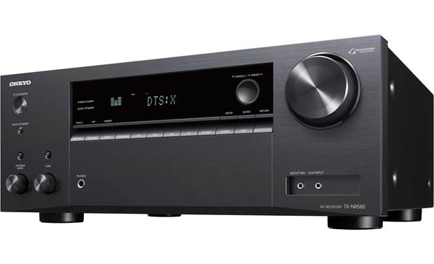 Onkyo TX-NR585 Angled front view