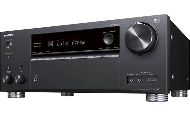 Onkyo TX-RZ630 Angled front view