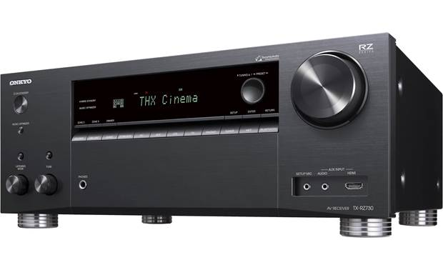 Onkyo TX-RZ730 Angled front view