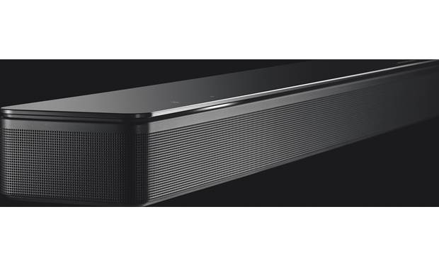 Bose® Soundbar 700 Metal grille feels sturdy and looks great