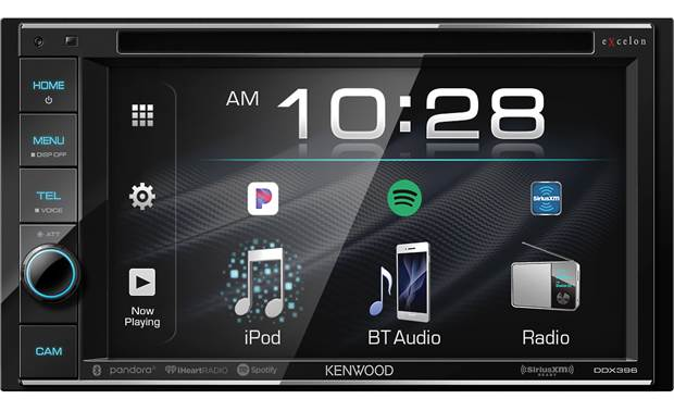 Kenwood Excelon DDX396 Kenwood combines handy touchscreen control with Excelon features