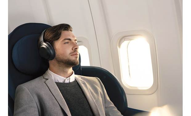 Sony WH-1000XM3 Adaptive noise cancellation adjusts to your surroundings, movement, and even your altitude