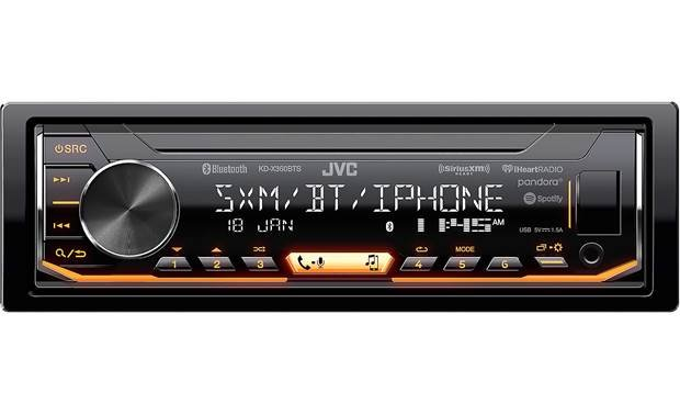 JVC KD-X360BTS Bring Bluetooth, app control, and more to your dash