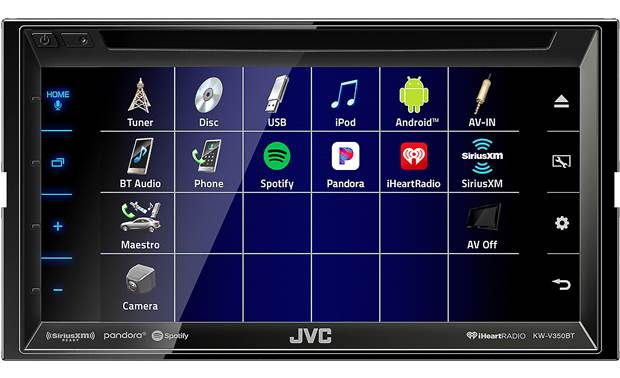 JVC KW-V350BT Other
