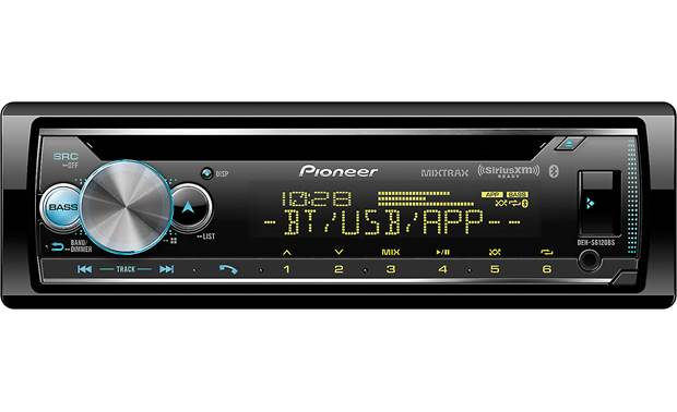 Pioneer DEH-S6120BS The DEH-S6120BS features dual-zone variable color illumination.