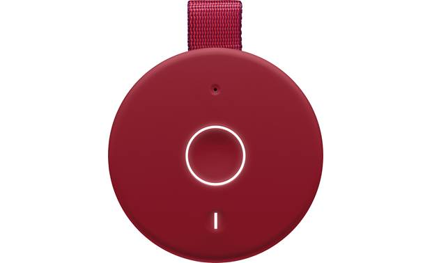 Ultimate Ears MEGABOOM 3 Sunset Red - top-mounted control buttons