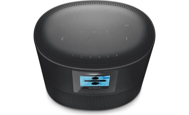 Bose® Home Speaker 500 Triple Black - top-mounted control buttons
