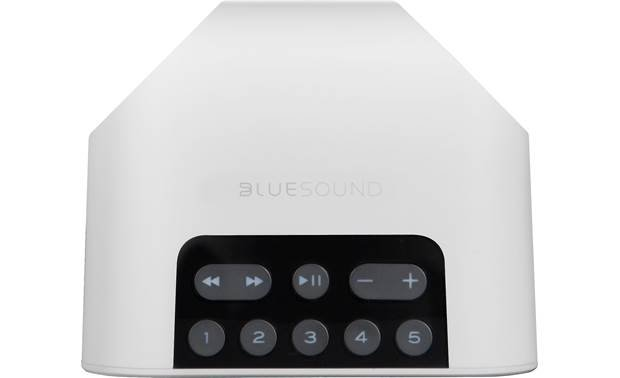 Bluesound Pulse Flex 2i White - top-mounted control buttons