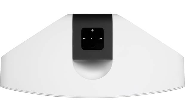 Bluesound Pulse 2i White - top-mounted control buttons