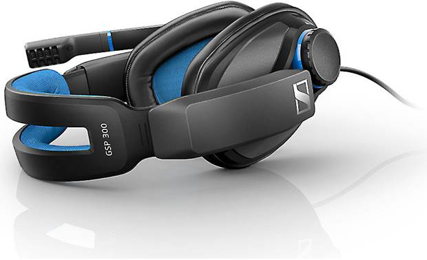 Sennheiser GSP 300 Split-suspension headband helps relieve stress on pressure points near your ear