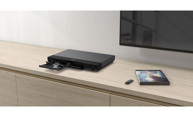 Sony UBP-X700 Compact design fits neatly in your TV setup