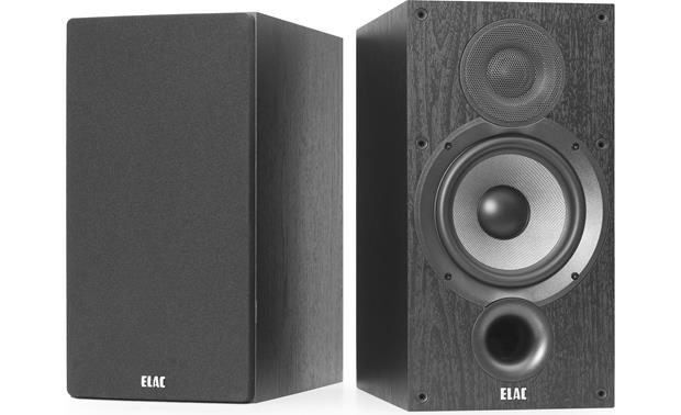 ELAC Debut 2.0 B6.2 Shown with one grille removed