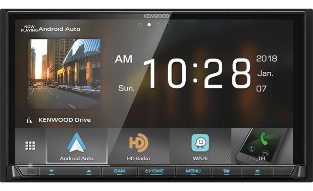 Kenwood DDX9705S Get your smartphone involved using WebLink™, Apple CarPlay®, and wireless Android Auto™