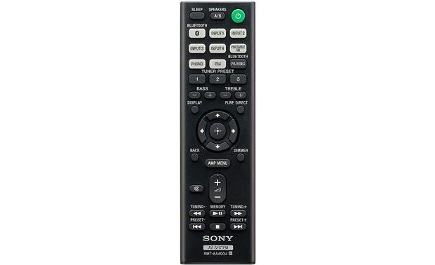 Sony STR-DH190 Remote included