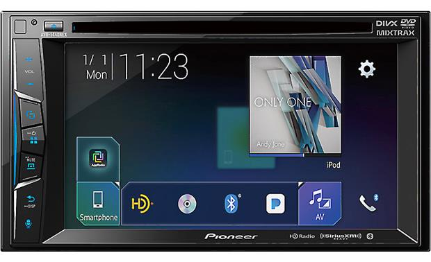 Pioneer AVH-1440NEX The AVH-1440NEX's display is customizable to match your preferences.