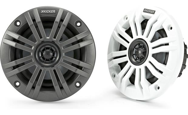 Kicker 45KM44 Charcoal and White grilles included