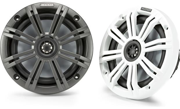 Kicker 45KM654 Charcoal and White grilles included