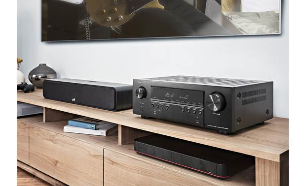 Denon AVR-S650H (2019 model) Shown in room
