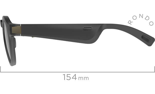 Bose Frames Rondo Nylon frames with durable metal hinges