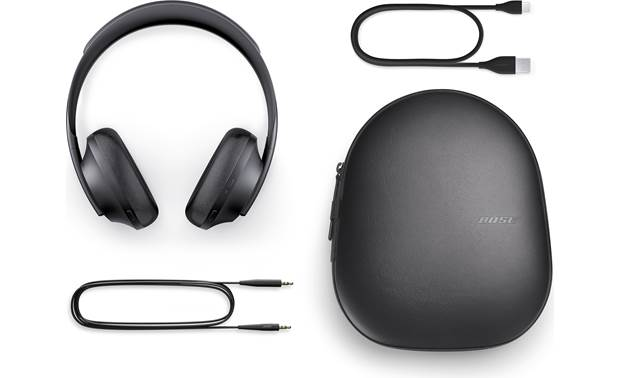 Bose Noise Cancelling Headphones 700 Included case and accessories