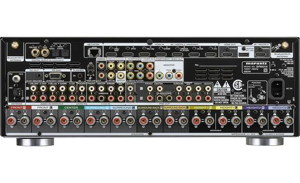 Marantz SR6014 (2019 model) Back