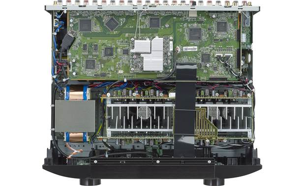 Marantz SR6014 (2019 model) An inside view of circuitry and design