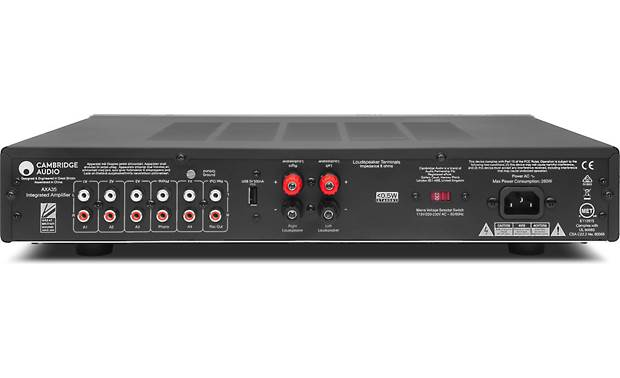 Cambridge Audio AXA35 Back