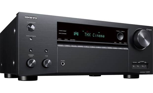 Onkyo TX-NR797 (2019 model) Angled front view