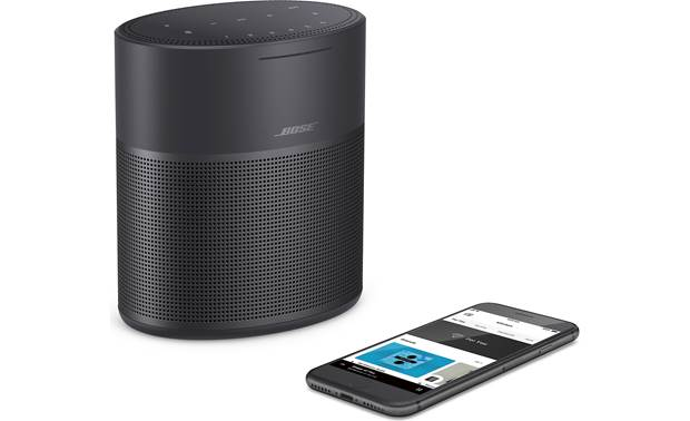 Bose® Home Speaker 300 Triple Black - stream wirelessly from your smartphone (not included)