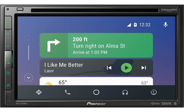 Pioneer AVH-2550NEX Navigation with Android Auto.