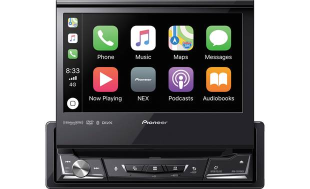 Pioneer AVH-3500NEX The AVH-3500NEX puts touchscreen performance into a single-DIN receiver