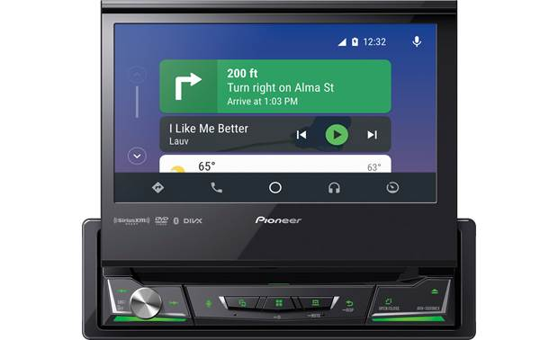 Pioneer AVH-3500NEX Directions with Android Auto