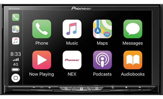 Pioneer AVH-W4500NEX The AVIC-W4500 sports a large 6.94