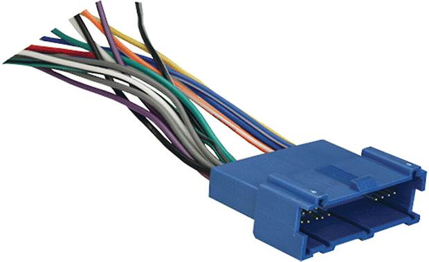 Metra 70-2001 Receiver Wiring Harness Front