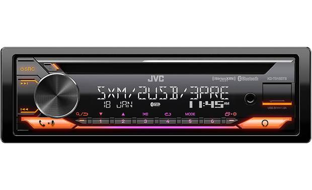 JVC KD-T915BTS Customize the look with variable color display and button options