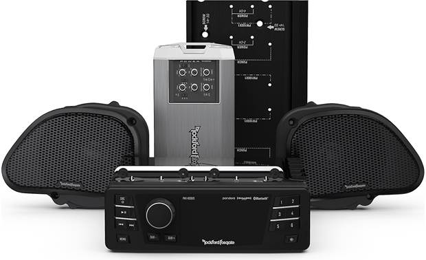 Rockford Fosgate HD9813RG-STAGE2 Front