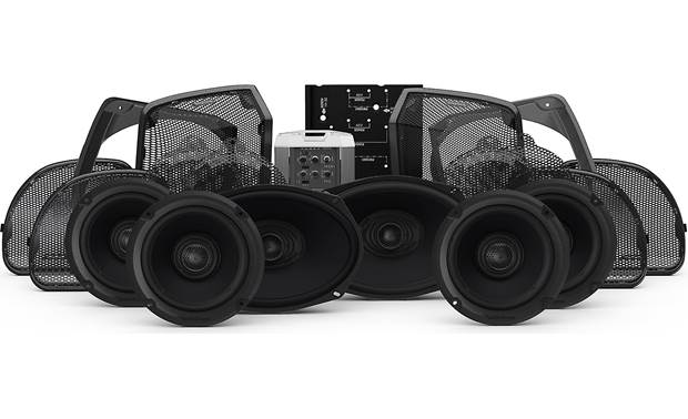 Rockford Fosgate HD14U-STAGE3 Front