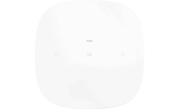Sonos One SL White - top-mounted control buttons