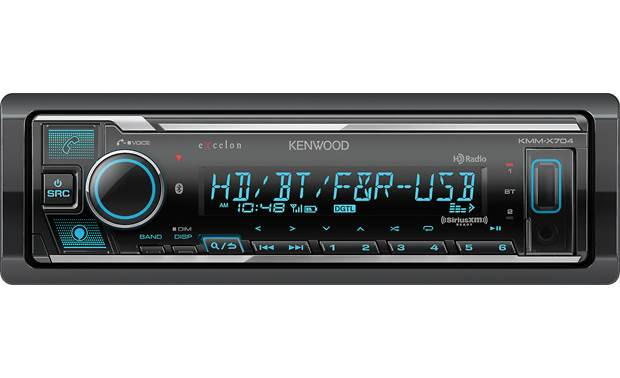 Kenwood Excelon KMM-X704 Built-in Amazon Alexa makes on-the-go tasks easier