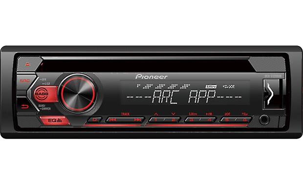 Pioneer DEH-S1200UB The DEH-S1200UB is a sound stepup from a low-powered factory system.