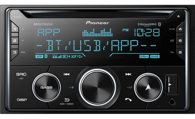 Pioneer FH-S722BS Variable illumination