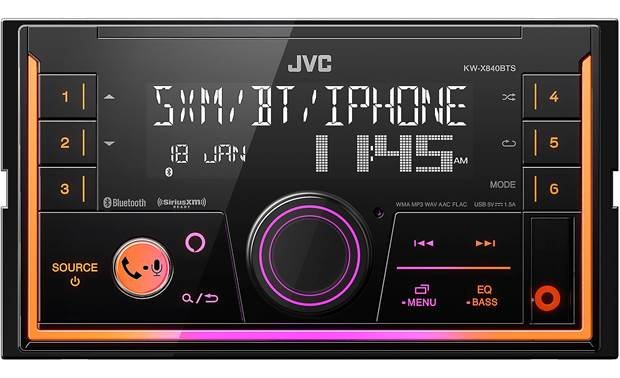 JVC KW-X840BTS Other