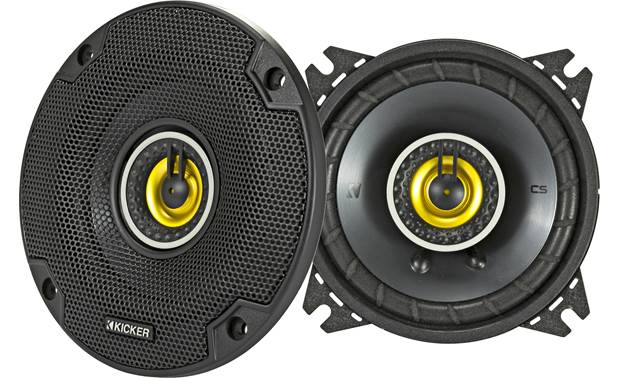 Kicker 46CSC44 Give your music a satisfying boost in quality
