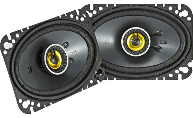 Kicker 46CSC464 Give your music a satisfying boost in quality