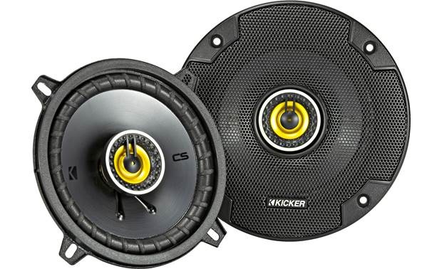 Kicker 46CSC54 Give your music a satisfying boost in quality